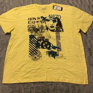 Yellow Marc Ecko Tee